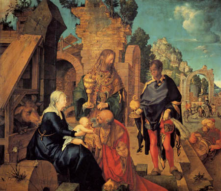 Albrecht Dürer - The Adoration of the Magi