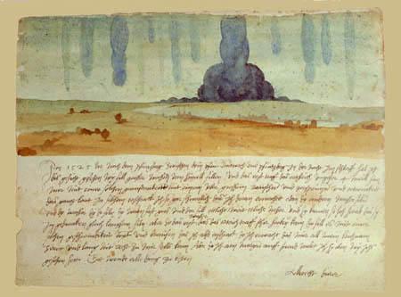 Albrecht Dürer - Landscape, Study