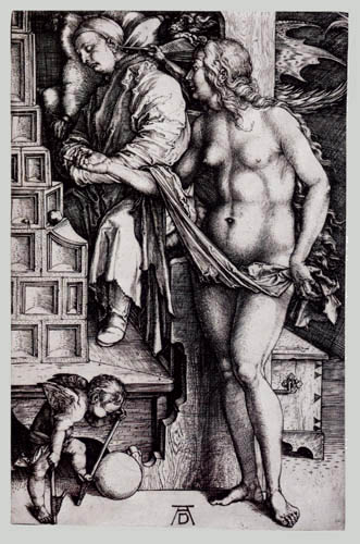 Albrecht Dürer - The dream of the doctor