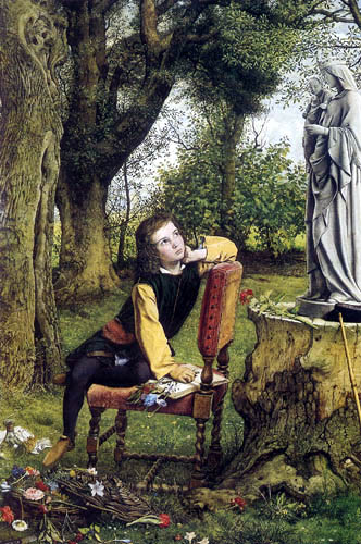 William Dyce - Titian´s erste Arbeit in Farbe