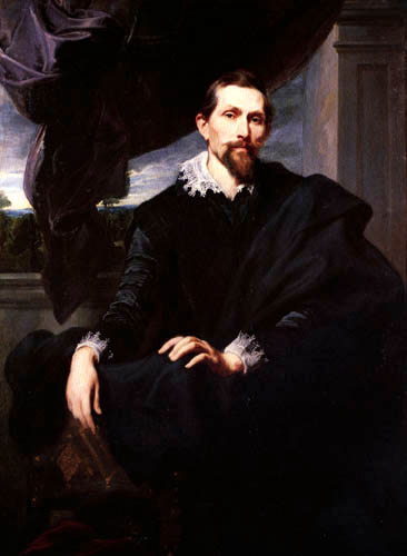 Sir  Anthonis van Dyck - Bildnis Frans Snyders