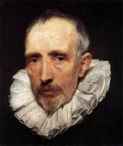 Sir  Anthonis van Dyck - Bildnis Cornelius van der Geest