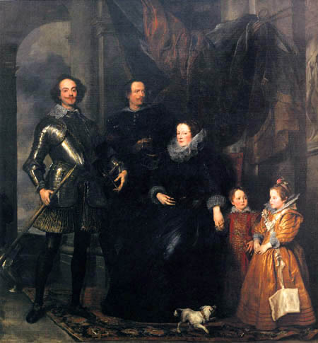 Sir  Anthonis van Dyck - The Family Lomellini