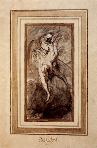 Sir  Anthonis van Dyck - The time uncovers the truth