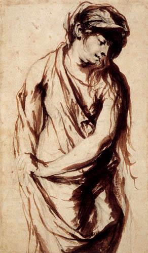 Sir  Anthonis van Dyck - Maria Magdalena, Studie