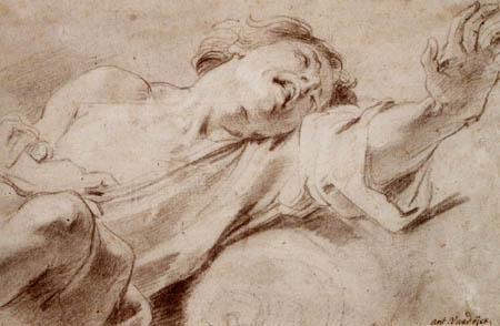 Sir  Anthonis van Dyck - Studie zu Malchus