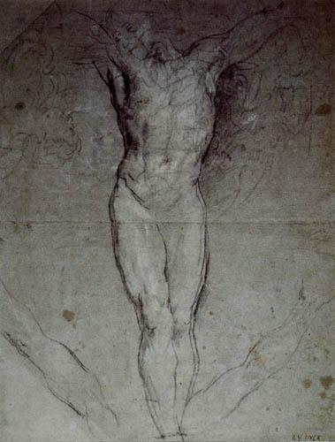 Sir  Anthonis van Dyck - Crucifixion, Study