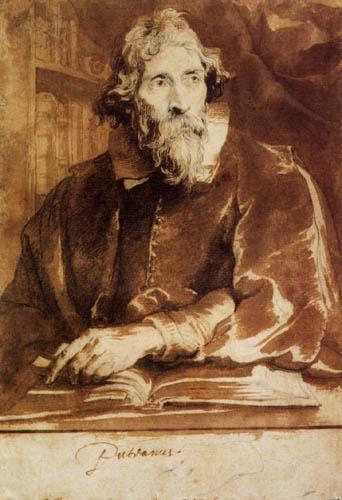 Sir  Anthonis van Dyck - Erycius Puteanus