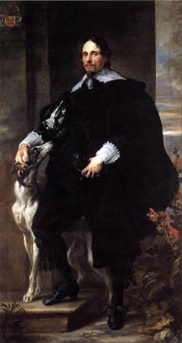 Sir  Anthonis van Dyck - Portrait of Philppe le Roy