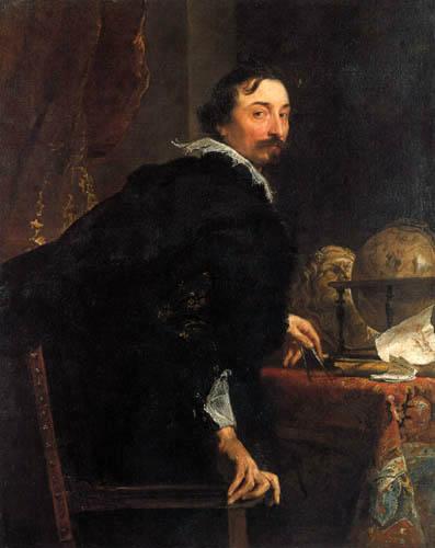 Sir  Anthonis van Dyck - Portrait of Lucas van Uffel