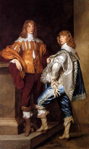 Sir  Anthonis van Dyck - George, Lord Digby and William, Lord Russel