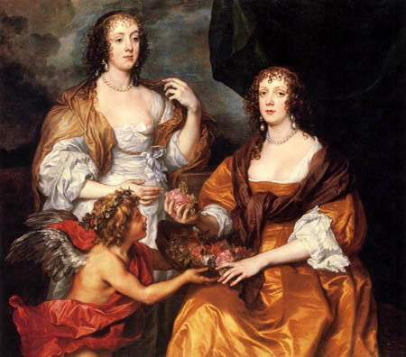 Sir  Anthonis van Dyck - Lady Dorothy Savage und Schwester Elisabeth