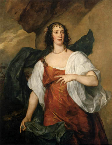 Sir  Anthonis van Dyck - Olivia Porter