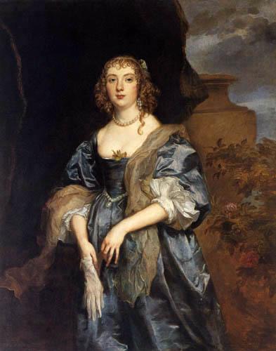 Sir  Anthonis van Dyck - Lady Anne Carr