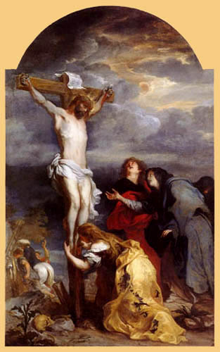Sir  Anthonis van Dyck - The Crucifixion