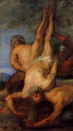 Sir  Anthonis van Dyck - The Crucifixion of Saint Peter