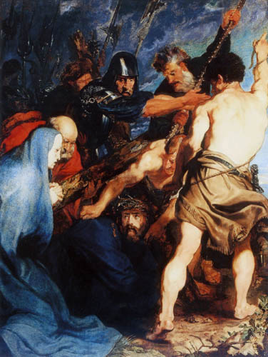 Sir  Anthonis van Dyck - Christ on the road to Calvary