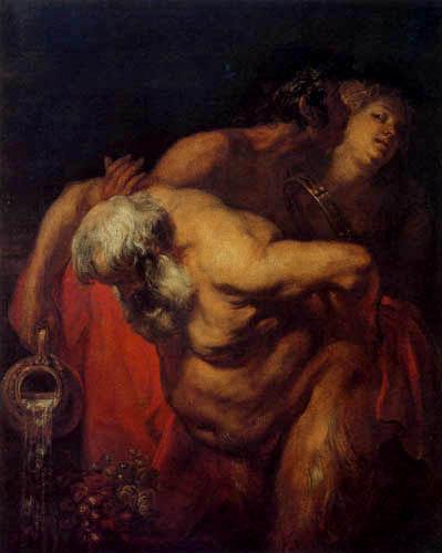 Sir  Anthonis van Dyck - The drunken Silen