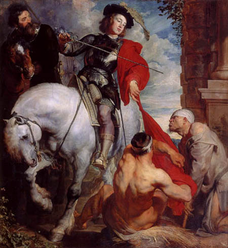 Sir  Anthonis van Dyck - The coat donation