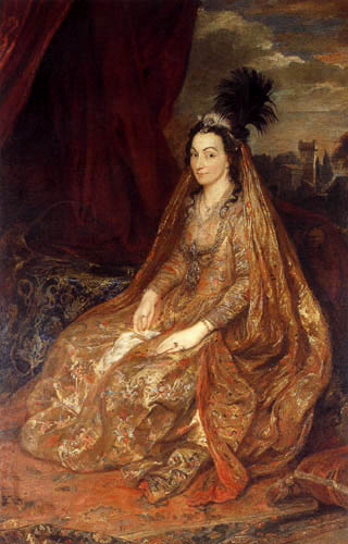 Sir  Anthonis van Dyck - Lady Teresia Shirley