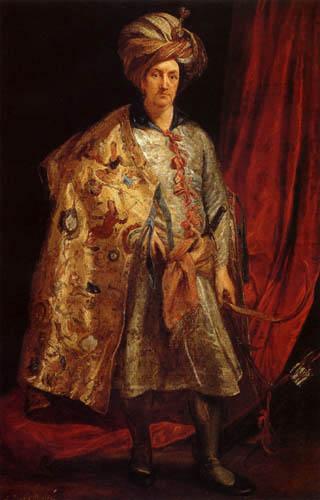 Sir  Anthonis van Dyck - Sir Robert Shirley
