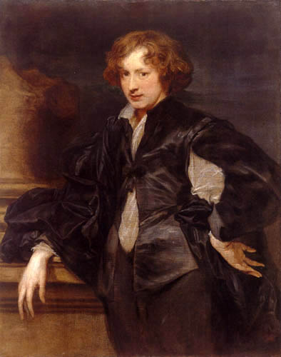 Sir  Anthonis van Dyck - Selfportrait