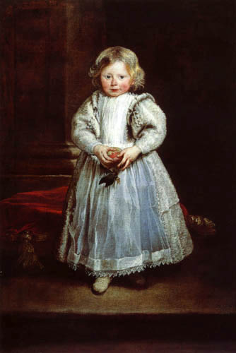 Sir  Anthonis van Dyck - Maddalena Cattaneo