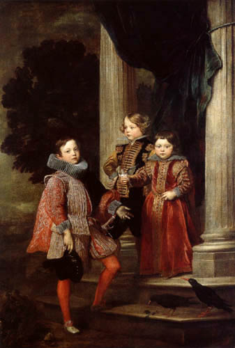 Sir  Anthonis van Dyck - The Balbi children