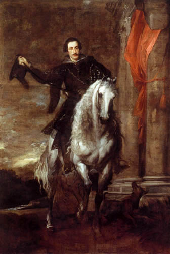 Sir  Anthonis van Dyck - Marchese Anton Giulio Brignole-Sale