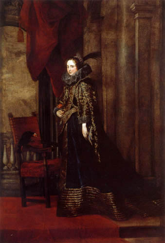 Sir  Anthonis van Dyck - Marchesa Paolina Adorno Brignole-Sale
