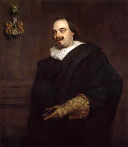 Sir  Anthonis van Dyck - Portrait of Pieter Stevens