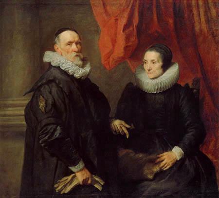 Sir  Anthonis van Dyck - Jan de Wael und seine Frau Gertrude de Jode