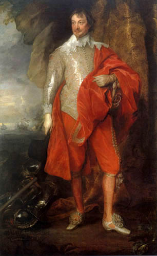 Sir  Anthonis van Dyck - Robert Rich, Graf von Warwick