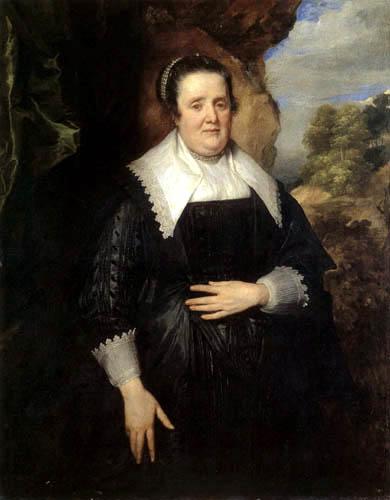 Sir  Anthonis van Dyck - Portrait of a Woman