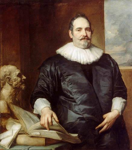 Sir  Anthonis van Dyck - Porträt des Justus van Meerstraeten
