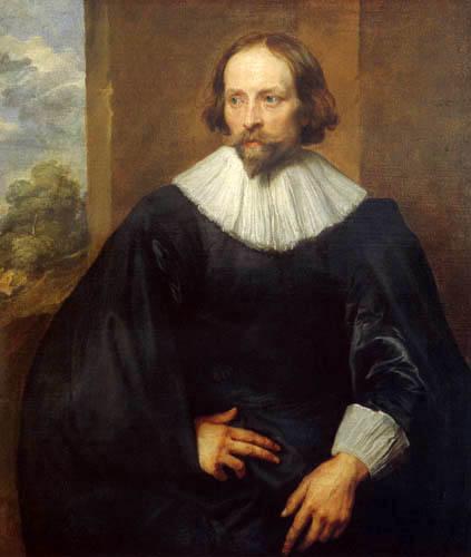 Sir  Anthonis van Dyck - Portrait of Quintijn Simons
