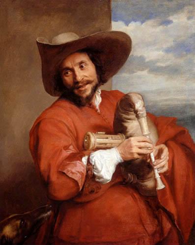 Sir  Anthonis van Dyck - Portrait of Francois Langlois