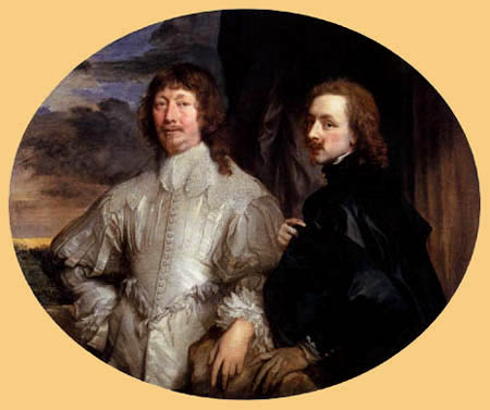 Sir  Anthonis van Dyck - Endymion Porter and the painter