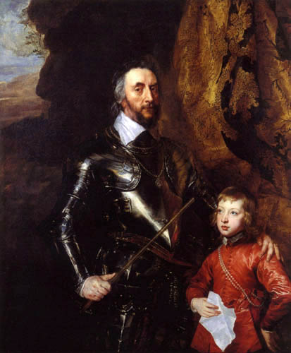 Sir  Anthonis van Dyck - Thomas Howard mit seinem Enkel Thomas
