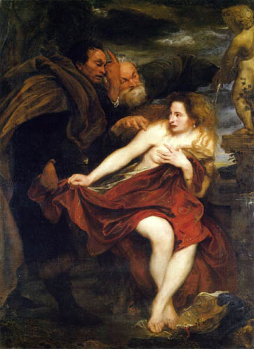Sir  Anthonis van Dyck - Susanna in the bath