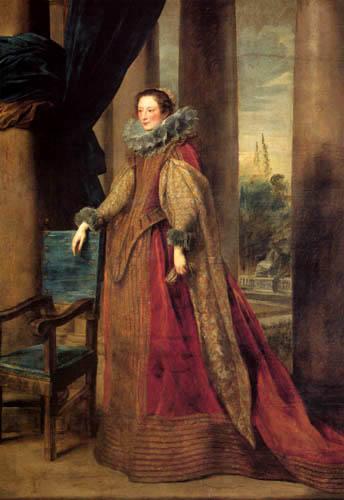 Sir  Anthonis van Dyck - Marquise Geromina Spinola-Doria