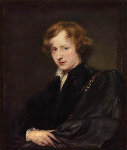 Sir  Anthonis van Dyck - Selfportrait