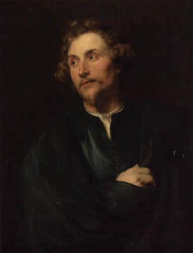 Sir  Anthonis van Dyck - The Sculptor Georg Petel