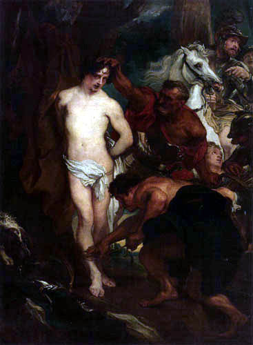 Sir  Anthonis van Dyck - St. Sebastian