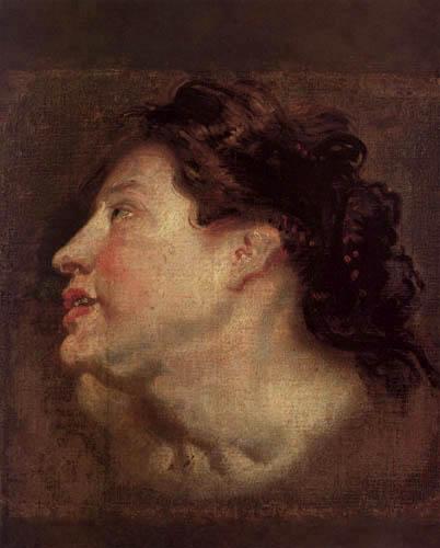 Sir  Anthonis van Dyck - Study of women