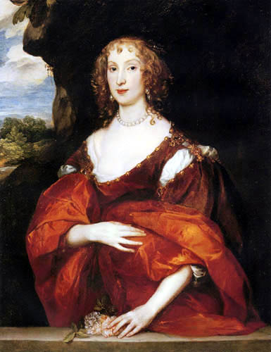 Sir  Anthonis van Dyck - Portrait of Mary Hill