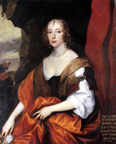 Sir  Anthonis van Dyck - Portrait of Anne Carr