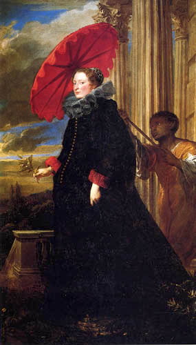 Sir  Anthonis van Dyck - Elena Grimaldi Cattaneo