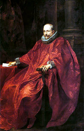 Sir  Anthonis van Dyck - Portrait of Agostino Pallavicino