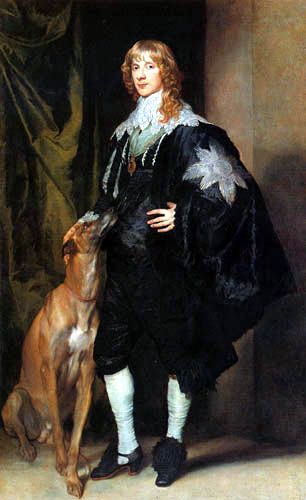 Sir  Anthonis van Dyck - James Stuart, Herzog von Richmond